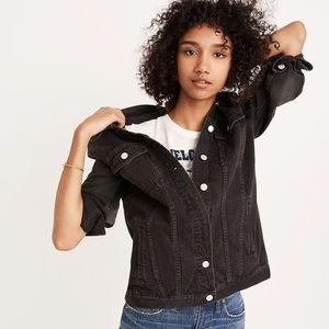 Madewell oversized denim jacket